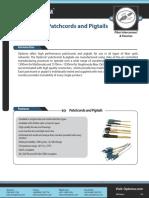Fibre Patchcords Pigtails