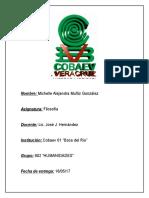 Proyecto de Filosofia Michelle Alejandra