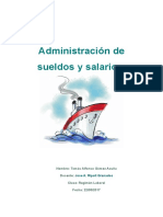 administracion de sueldos y salarios