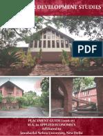 CDS Thiruvunanthapuram Placement Brochure 2017