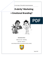 Is celebrity marketing = Emotional Branding?