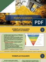 EHS Awareness PPT 004 Workplace Hazards