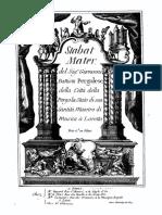 Pergolesi - Stabat Mater [Bayard, c1745]