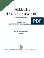 Handel - Concerti Grossi Op 6 [Bärenreiter 1961]