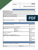 Registro de Investigación de Accidentes