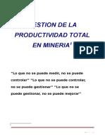 130077205 Gestion de Productividad Total Mineria Subterranea