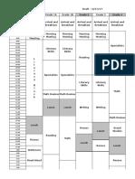 2017-2018master schedule