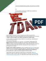 Así Deben Actuar en El Aula Los Profesores Para Ayudar a Los Alumnos Con TDAH