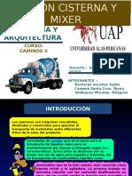 Camion Mixer y Cisterna