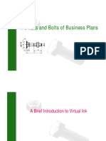The Nuts and Bolts of Business Plans