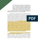 Vicenç Navarro Ha Sido Catedrático de Economía Aplicada en La Universidad de Barcelona