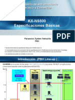 1. NS500 - Basic Spec 2013-1018_Español - Webex