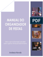 Livro Manual Do Organizador de Festas Revisao2