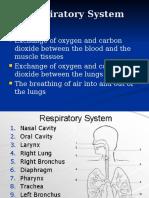As Mechanics of Breathing