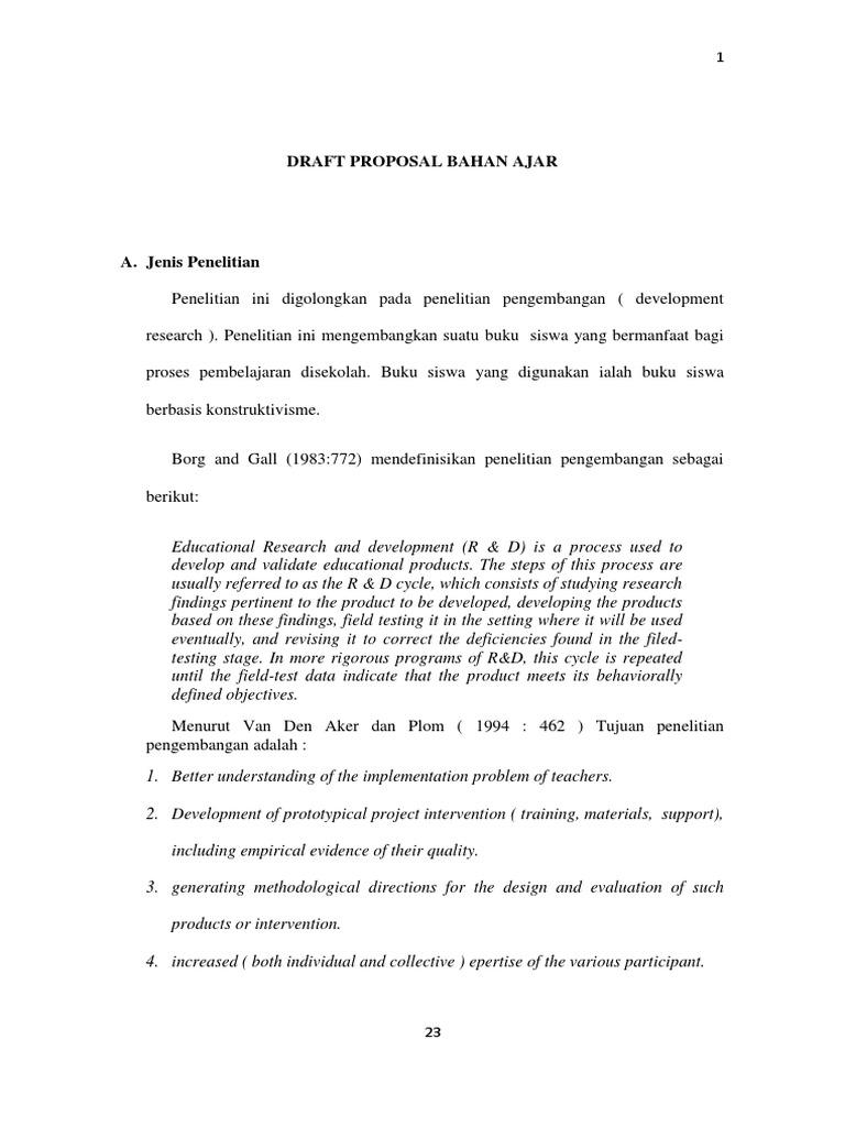 Contoh Draft Proposal Pdf