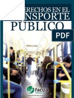 Tus Derechos en El Transporte Publico