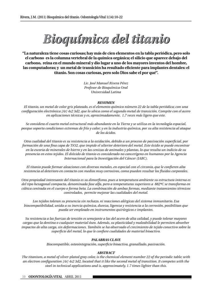 Bioquimica del titaniopdf urtaz Choice Image