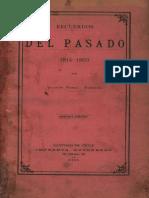 Vicente Perez Rosales Recuerdos Del Pasado