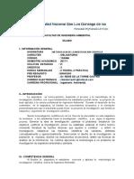 Silabo Metodologia de Investigacion 2017-i