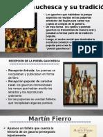 literatura gauchesca y Martín Fierro