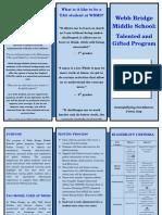 allenson moran screening and testing brochure