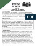 P1syllabus2017-18