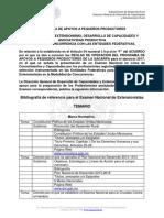 Bibliografia Examen Nacional en Linea Extensionistas 2017
