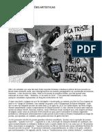 Ações Políticas, Ações Artísticas - Suplemento Pernambuco Flora Sussekind