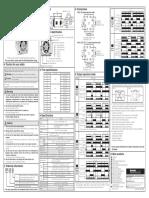 Autonics Ateightn Timer Manual