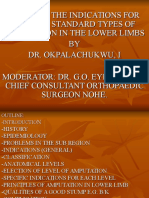 Amputation in Lower Limbs