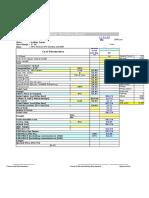 Cost sheet STD.xls