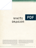 13th Age - Bestiary Preview - White Dragon