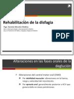 Rehabilitación de La Disfagia