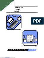Training Manual PageMaker 6.5