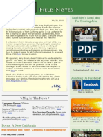Field Notes From The Meg Whitman Campaign - July 23, 2010