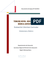 evaluacion covertura curricular