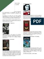 100 Libros Para Leer