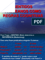 Sentidos Fregeanos Como Regras Cognitivas