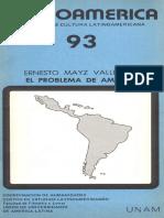 El Problema de América_Mayz Vallenilla