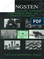 Tungsten Properties Chemistry Technology of the Element Alloys and Chemical Compounds Kluwer Plenum 1999