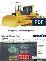 D155AX-5 Bulldozers Monitoring Mode
