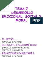 Desarrollo Social, Emocional y Moral