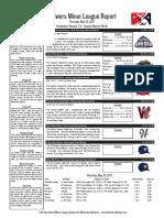 5.25.17 Minor League Report