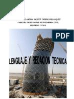 Redaccion Tecnica Ix Semestre 2016-i