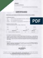 Certificacion de Pozo a Tierra