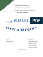 Arbol Binario Trabajo 4