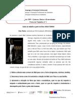 Ficha de Trabalho- Gran Torino
