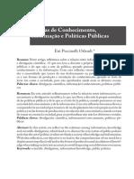 ORLANDI, Eni P - Formas de Conhecimento, Informação e Políticas Públicas