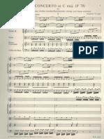 Vivaldi RV 444 Orchestra Score