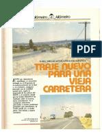 Revista Tráfico - nº 4 - Octubre de 1985. Reportaje Kilómetro y kilómetro